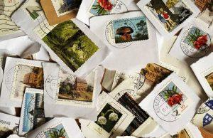 collection de timbres