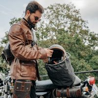 Housse de casque moto
